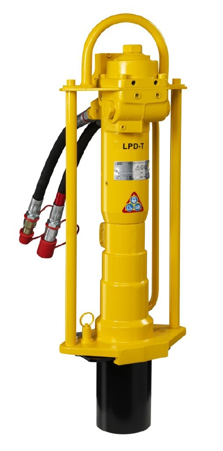 Lpd T Hydraulic Post Driver With Trigger Lever Milspec
